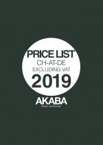 Akaba Preisliste 2019