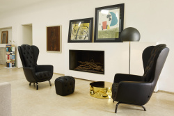 Guelfo_wingback+pouf_leather_lifestyle (2)