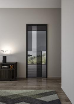 ALBED_BATTCC_STPSLM_CELINE_product_door_black_frame_glass_fume_dark_grey