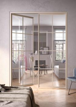 ALBED_BATTSFLT_CORRCD_QUADRA_product_door_double_champagne_trasparent_glass